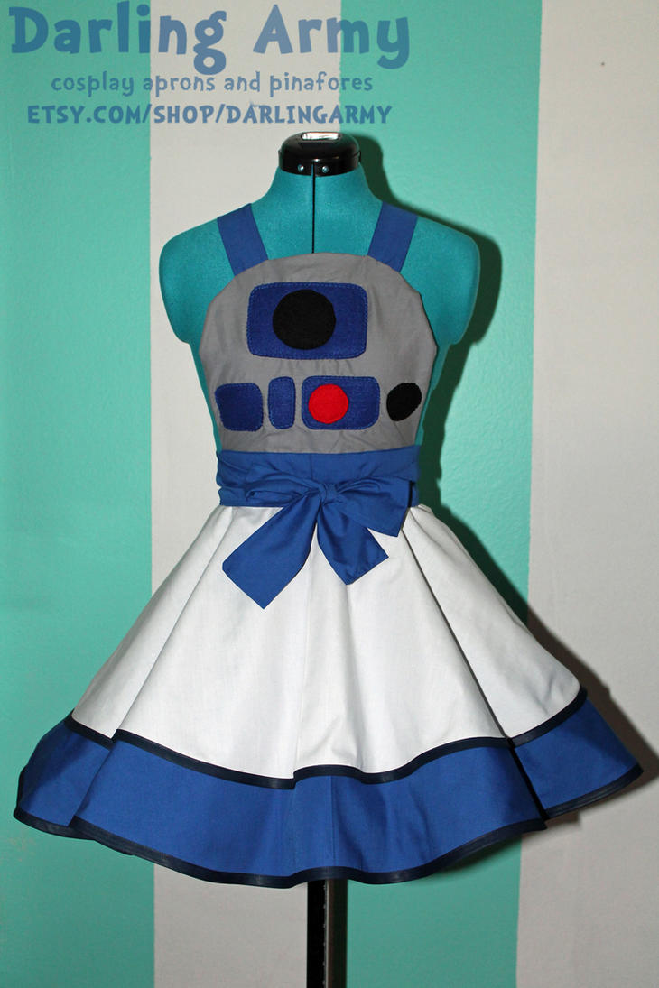 R2D2 -Star Wars- Cosplay Pinafore by DarlingArmy