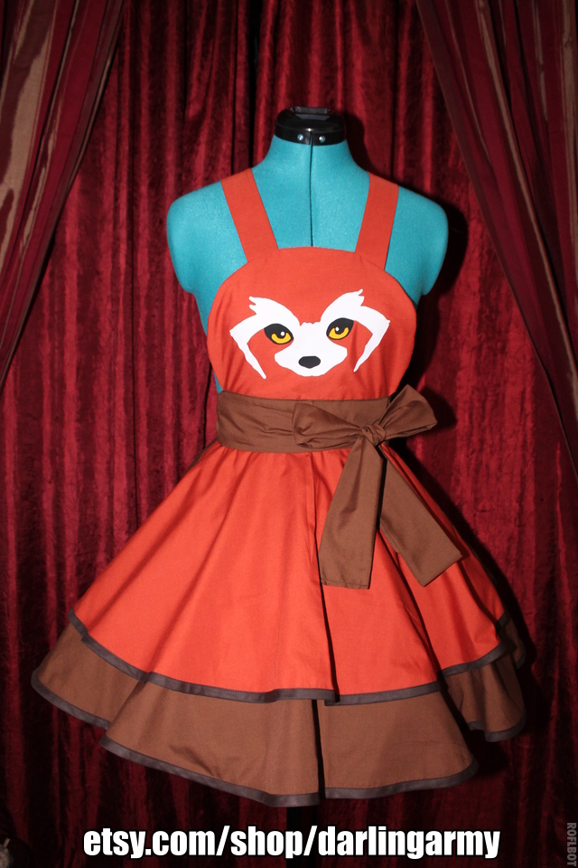 Pabu -Legend of Korra- Cosplay Pinafore by DarlingArmy