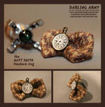 Timelord Ring - Matt Smith - Darling Army