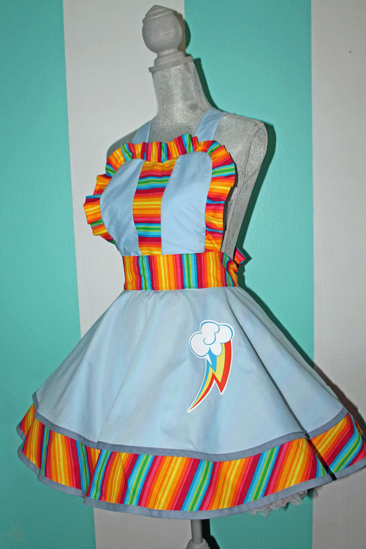 Rainbow Dash - MLP- Cosplay Pinafore by DarlingArmy