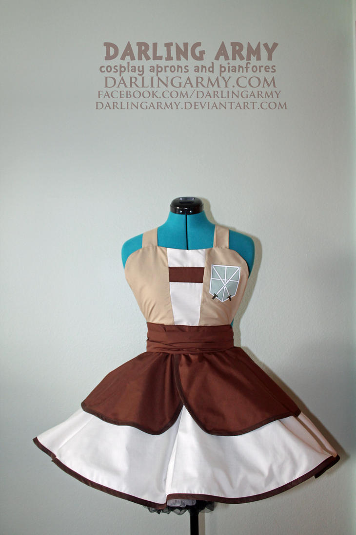 104th Trainee -Attack on Titan- Cosplay Pinafore by DarlingArmy