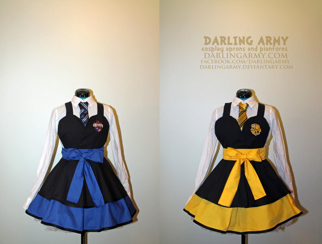 Hufflepuff And Ravenclaw Harry Potter Cosplay By