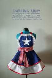 Captain America - Avengers - Cosplay Pinafore by DarlingArmy