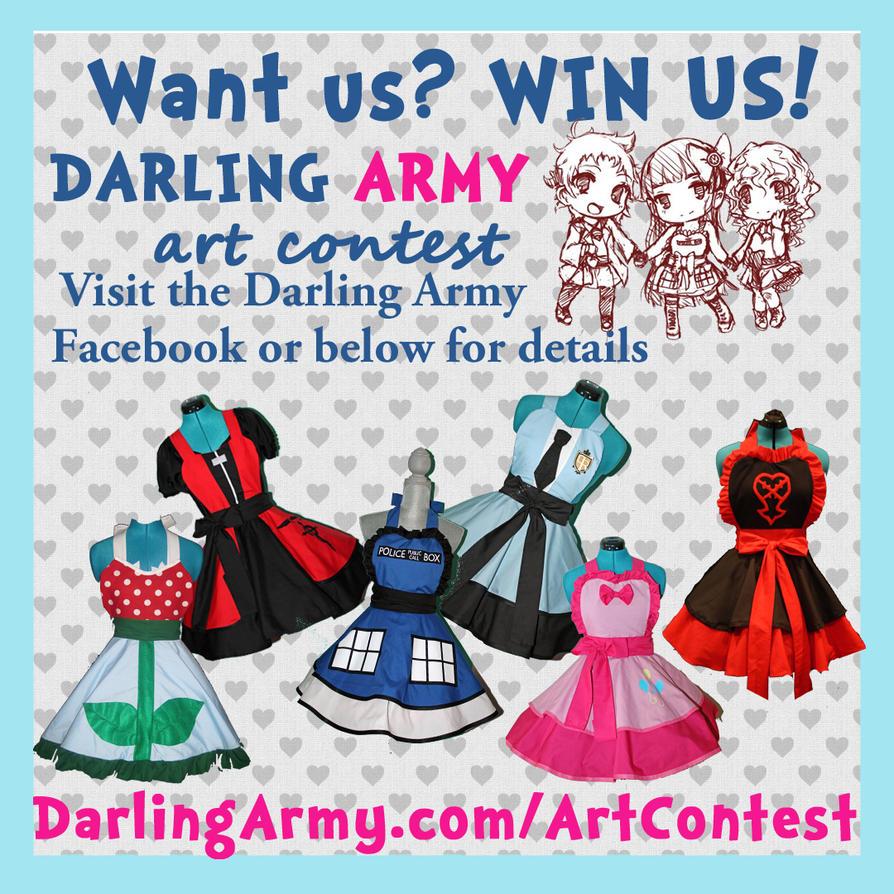 Darling Army Art Contest by DarlingArmy