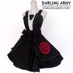 Sebastian Michaelis Black Butler Cosplay Pinafore by DarlingArmy