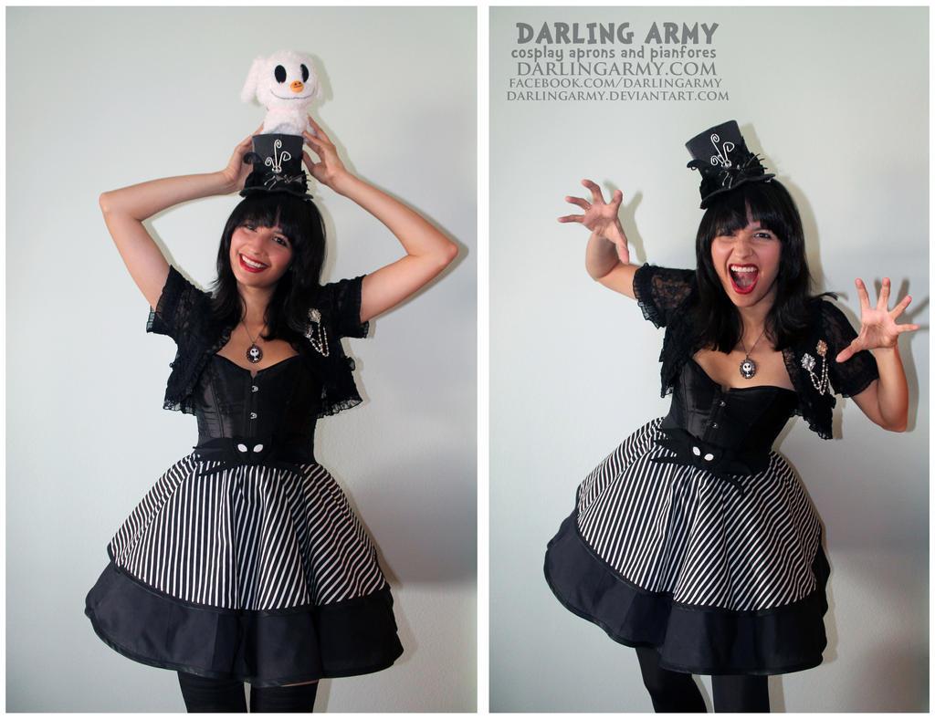 Jack Skellington Nightmare Before Christmas Skirt by DarlingArmy
