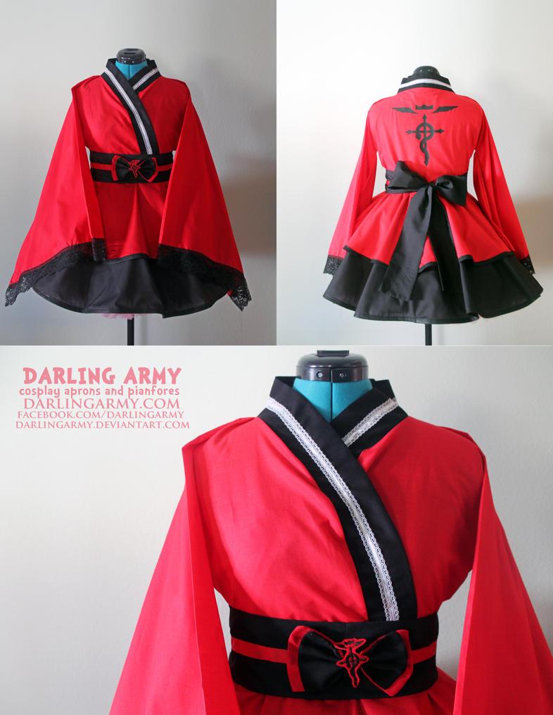Ed Elric  - Fullmetal Alchemist - Kimono Dress by DarlingArmy