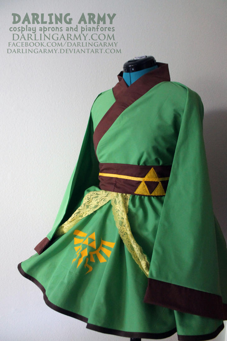 Link - Legend of Zelda - Cosplay Kimono Dress by DarlingArmy