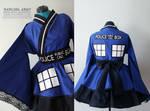 TARDIS - Doctor Who - Cosplay Kimono Dress