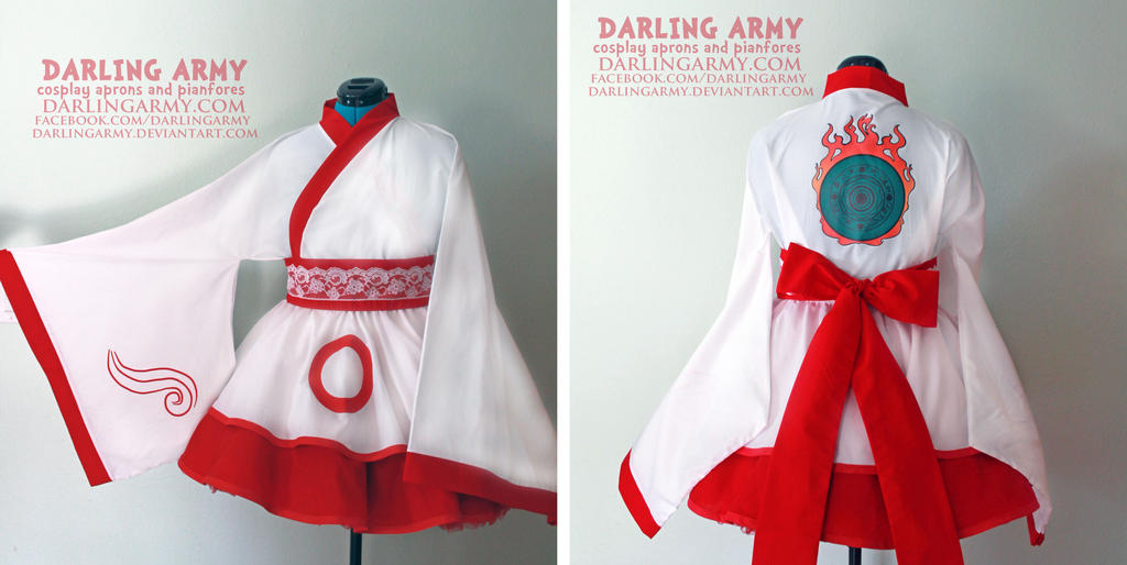Amaterasu - Okami - Cosplay Kimono Dress by DarlingArmy