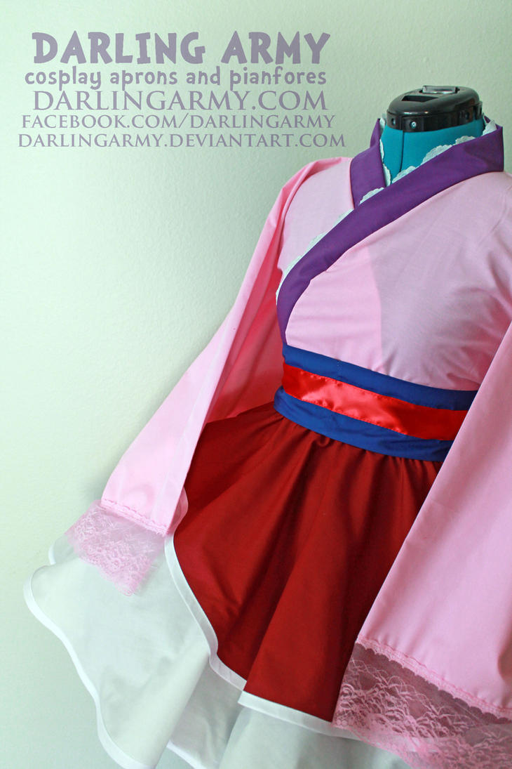 Mulan Cosplay Lolita Kimono Dress by DarlingArmy