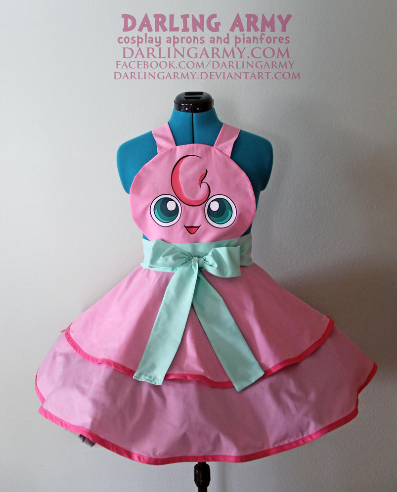 Jigglypuff - Pokemon - Gijinka Cosplay Pinafore by DarlingArmy