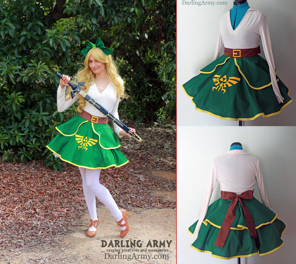 Link - Legend of Zelda - Cosplay Lolita Skirt by DarlingArmy