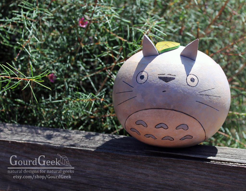 Totoro Gourd Pot Trinket Box by DarlingArmy