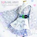 Totoro Studio Ghibli Cosplay Lolita Kimono Dress