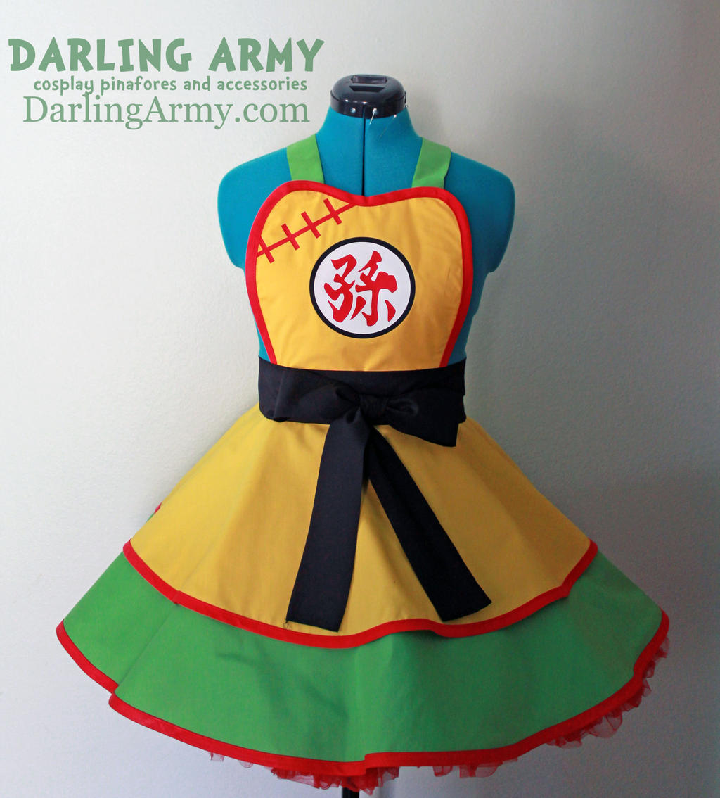 Toddler Gohan - Dragon Ball Z - Cosplay Pinafore by DarlingArmy