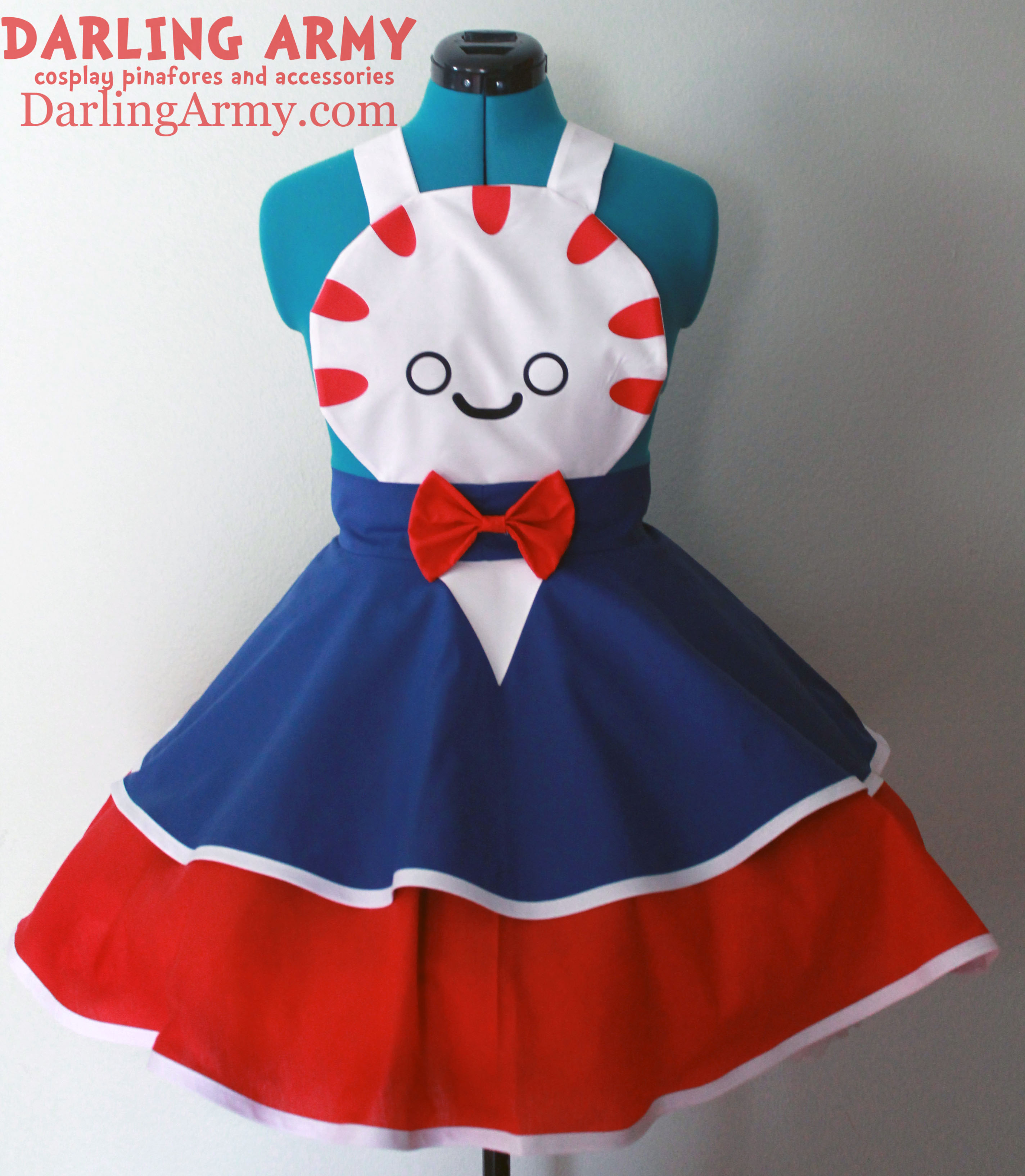 Peppermint Butler Adventure Time Cosplay Pinafore by DarlingArmy