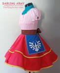 Skyward Sword Zelda Cosplay Lolita Skirt