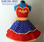 Wonder Woman Cosplay Pinafore