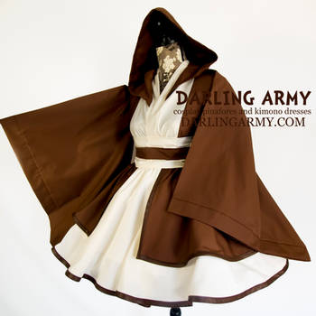 Obi-Wan Jedi - Star Wars - Cosplay Kimono Dress by DarlingArmy
