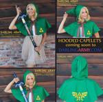 Link Legend of Zelda Cosplay Hooded Capelet