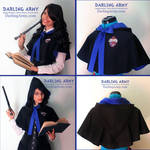 Ravenclaw Hogwarts - Harry Potter - Hooded Capelet