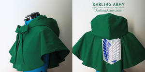 Attack on Titan Hooded Cosplay Capelet