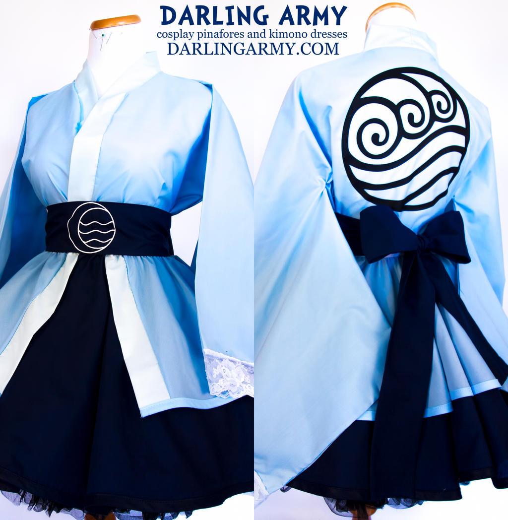 Water Tribe - Avatar - Cosplay Lolita Kimono Dress