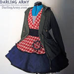 Supernatural Sam Winchester Cosplay Pinafore