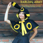 Umbreon Pokemon Gijinka Cosplay Capelet