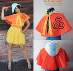 Airbender Avatar Cosplay Capelet