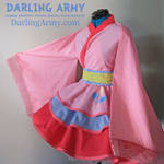 Pinkie Pie MLP Cosplay Kimono Dress