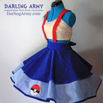Misty Pokemon Cosplay Jumper Pinafore