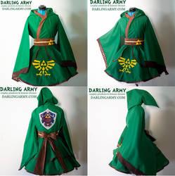 Link Legend of Zelda Hooded Cosplay Kimono Dress by DarlingArmy