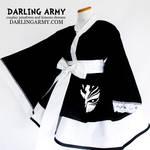 Ichigo Bankai Bleach Cosplay Kimono Dress by DarlingArmy