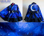 Galaxy Space Cosplay Kimono Dress