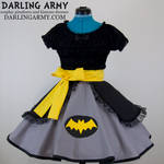 Batman Cosplay Lolita Skirt