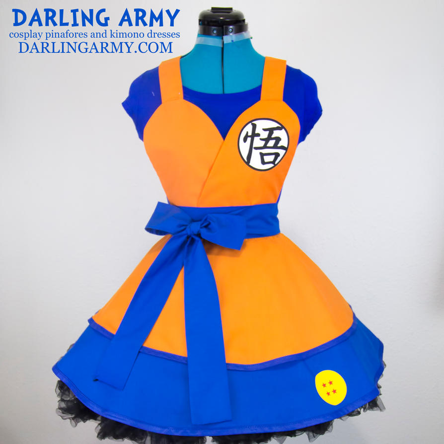 Son Goku Dragon Ball Z Cosplay Pinafore by DarlingArmy