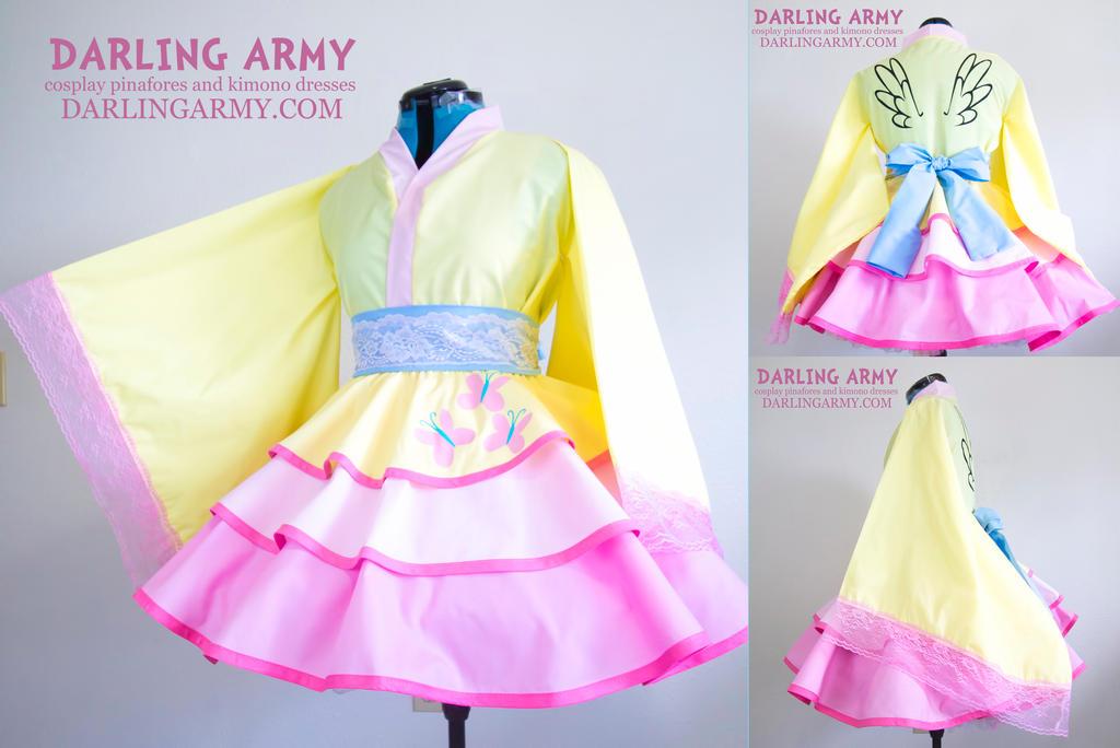 Fluttershy My Little Pony MLP Cosplay Kimono Dress by DarlingArmy ...  sc 1 st  DeviantArt & Fluttershy My Little Pony MLP Cosplay Kimono Dress by DarlingArmy on ...