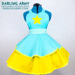 Pearl Steven Universe Cosplay Pinafore Dress
