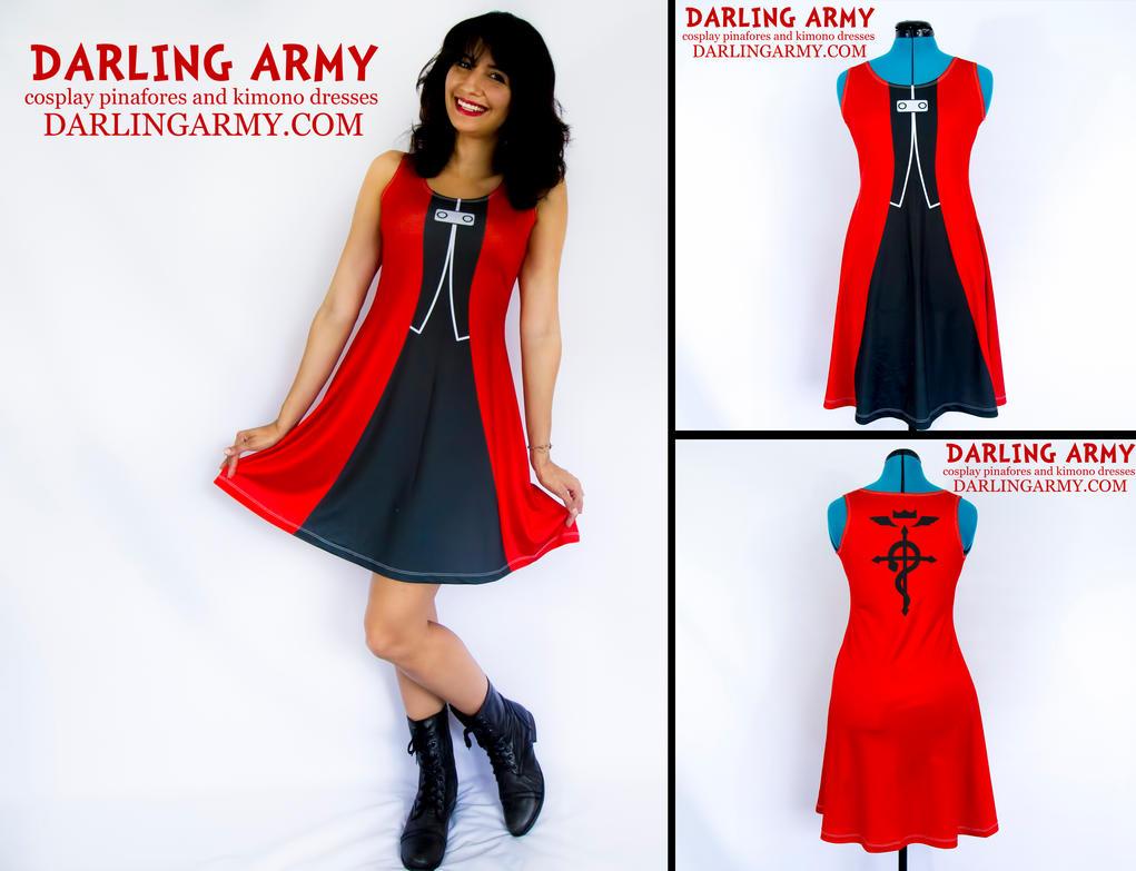 Edward Elric Fullmetal Alchemist Cosplay Dress by DarlingArmy