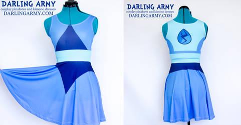 Lapis Lazuli Steven Universe Cosplay Printed Dress by DarlingArmy