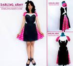 Spider Gwen Inspired Cosplay Dress