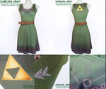 Link Legend of Zelda Cosplay Dress