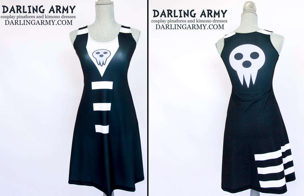 Death the Kid Soul Eater Printed Cosplay Dress by DarlingArmy ...  sc 1 st  DeviantArt & Death the Kid Soul Eater Printed Cosplay Dress by DarlingArmy on ...