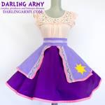 Rapunzel Tangled Disneybound Cosplay Skirt