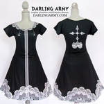 Nobody Organization XIII Kingdom Hearts Dress