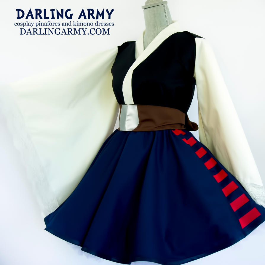 Han Solo Star Wars Cosplay Kimono Dress By Darlingarmy On