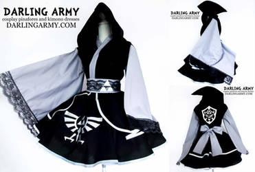Shadow Link Legend of Zelda Cosplay Kimono Dress by DarlingArmy