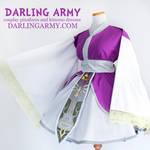 Zelda Twilight Princess Cosplay Kimono Dress